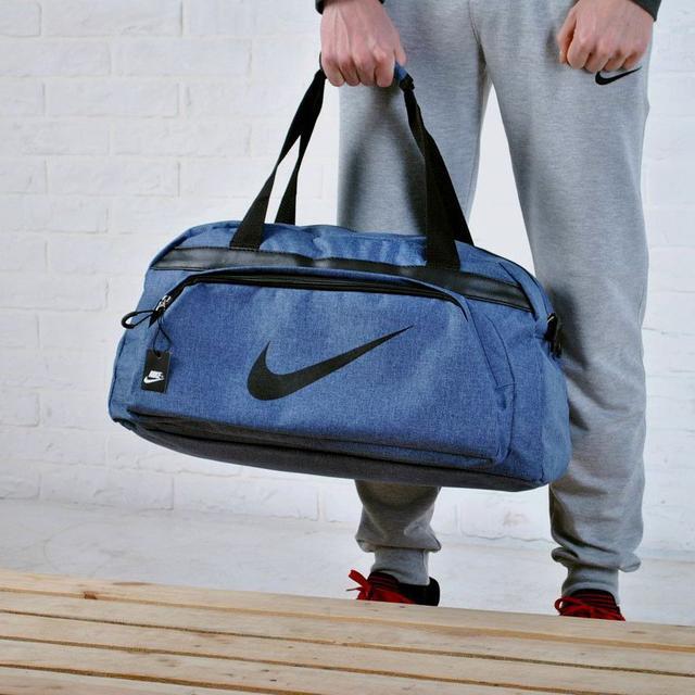 сумка серая Nike