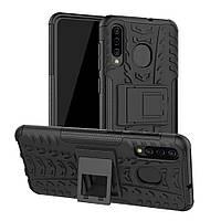 Чехол Armor для Samsung A50 2019 / A505F бампер противоударный черный