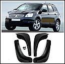 Брызговики MGC Nissan Qashqai (Ниссан Кашкай) 2006-2013 г.в. комплект 4 шт KE788JD186, KE788JD185, фото 9