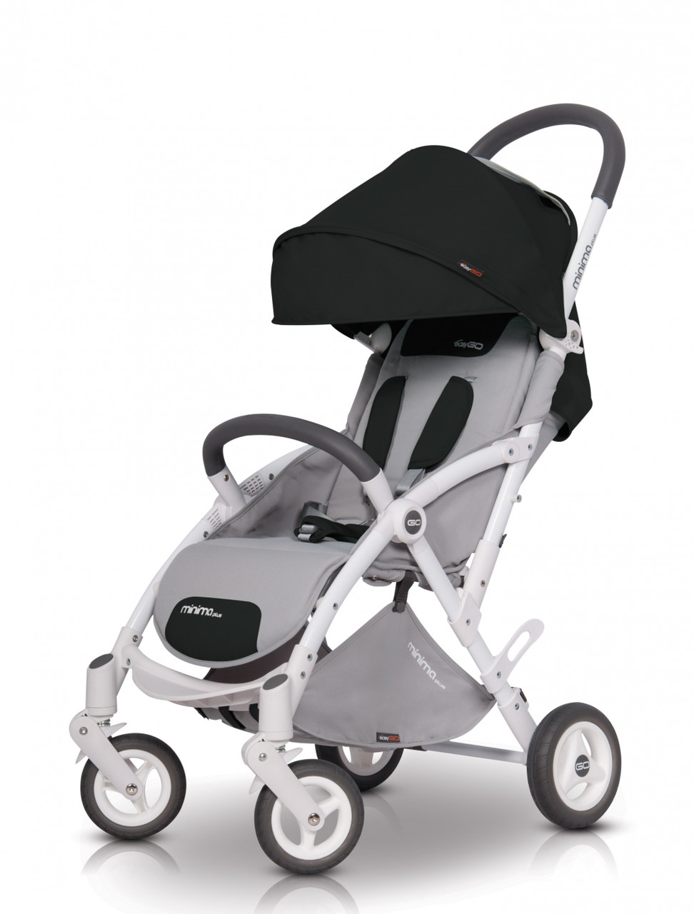 Коляска прогулочная EasyGo Minima Plus carbon (ізі гоу мінімум плас)
