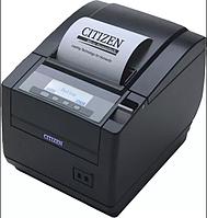 Чековый принтер CITIZEN CT-S801 USB Б/У термо печать ОРИГИНАЛ, фото 1