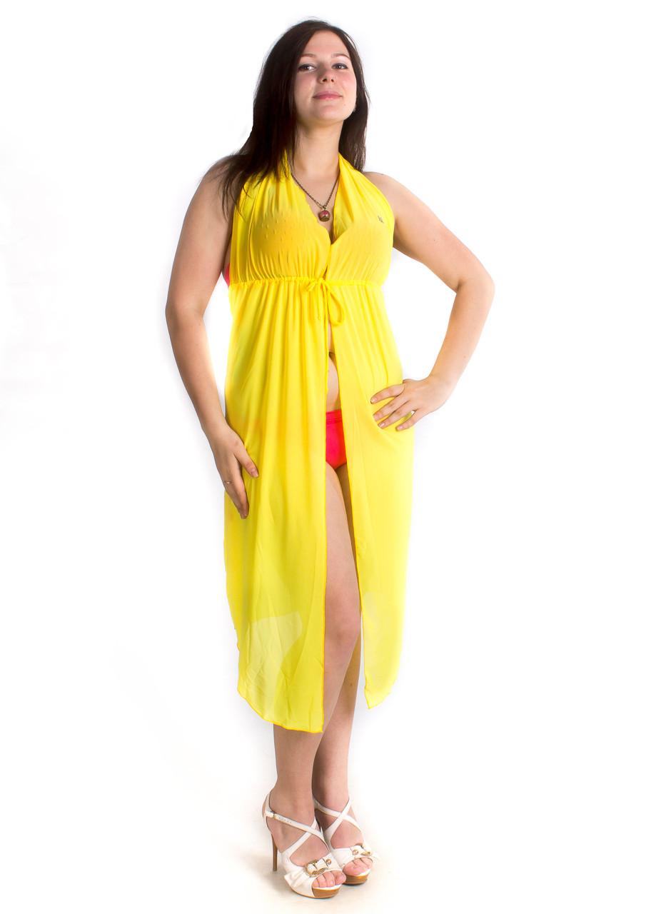 Туника пляжная сарафан  с открытой спиной, опт 160 грн.