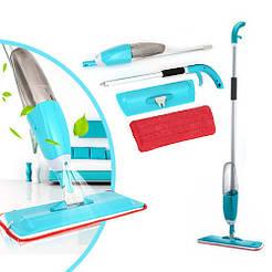 Универсальная швабра с распылителем spray mop, швабра 3в1 спрей моп