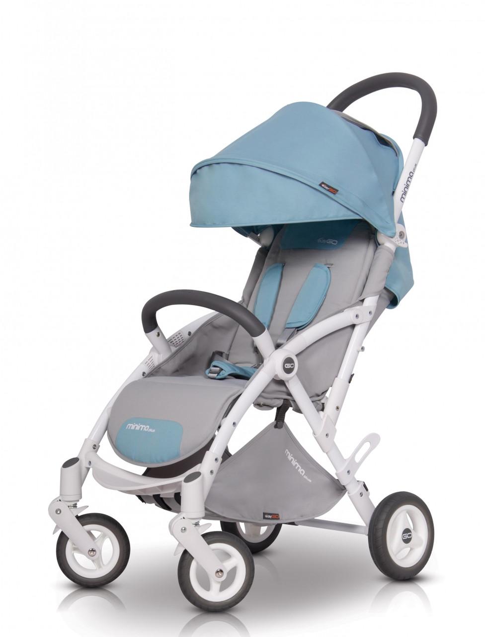 Коляска прогулочная EasyGo Minima Plus niagara голубой (изи гоу минима плас)