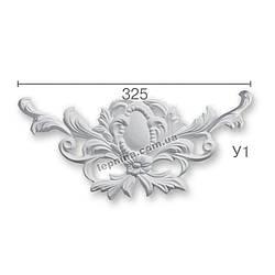 Гипсовая лепнина декоративный угол у-1