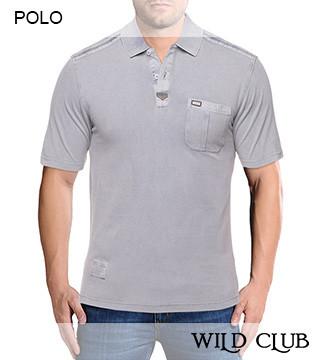 Мужские рубашки Поло Wild Club 87212