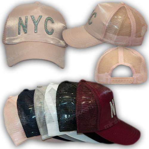 Кепка с сеткой NYC
