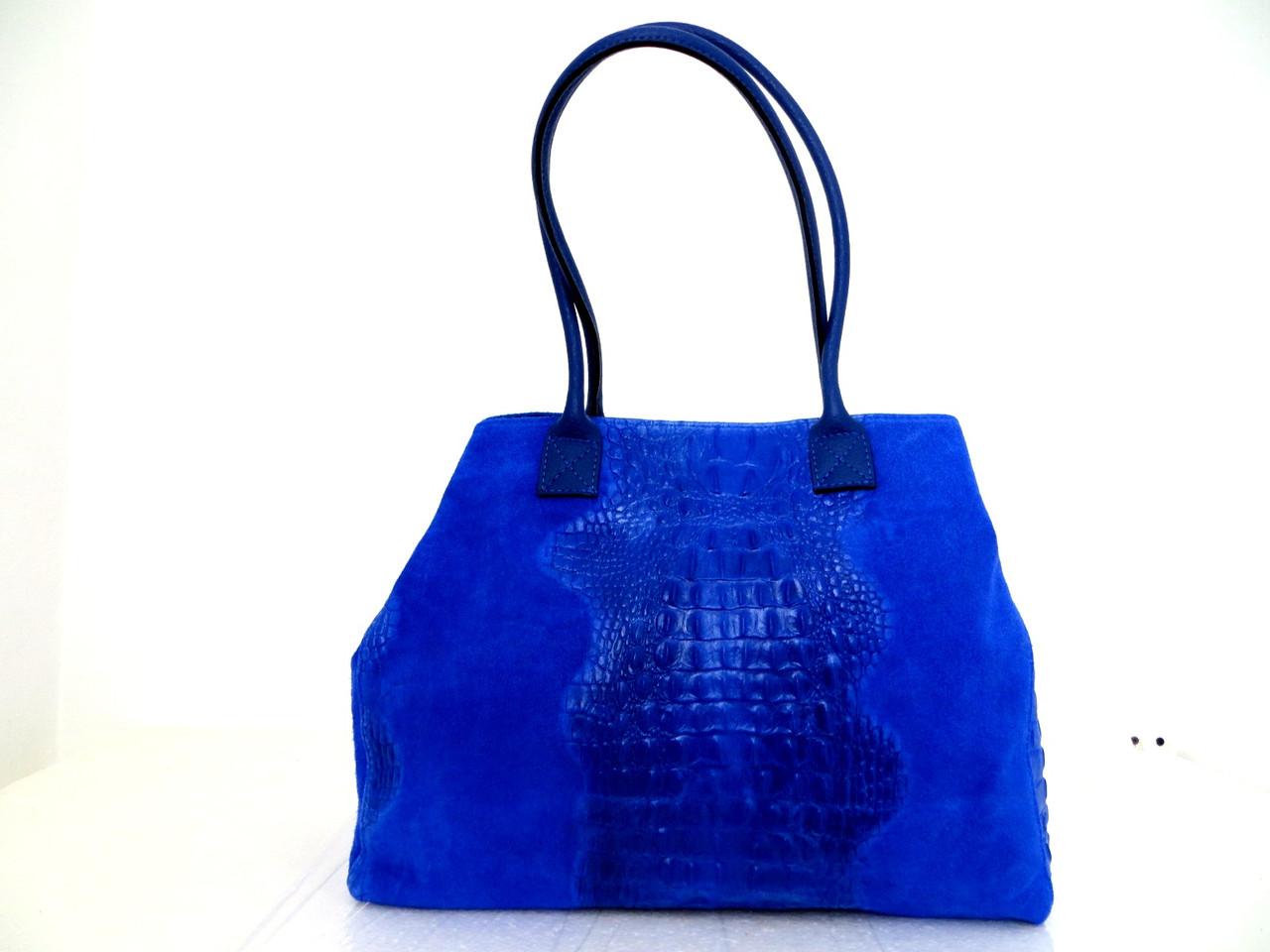 Модная женская сумка 100% натуральная кожа. Италия, фото 1