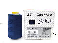 Швейная нитка темно-синяя Gutermann col. 32456 120 5000m