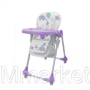 Стульчик для кормления M 3233 Elephant Lavender