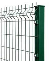Ворота и калитки из сетки в ПВХ (3D) в коплекте