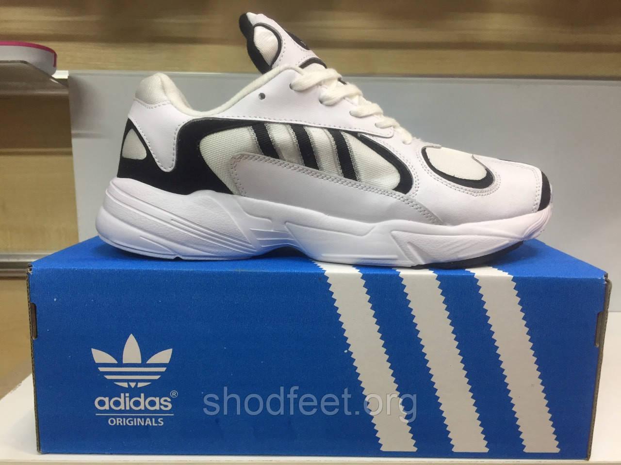Мужские кроссовки Adidas YUNG-1 White