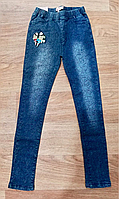Джинсовые лосины - ДЖЕГГИНСЫ для девочек.Размер 134-158 см ,Seagull Венгрия