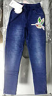 Леггинсы под джинс с меховым начесом для девочек Seagull 8-16 лет