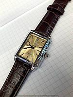 Часы механические Luch 116249 серебристые мужские прямоугольные Беларусь