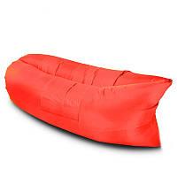 Надувной матрас-гамак Lamzak Original 2,2м Красный (M1)