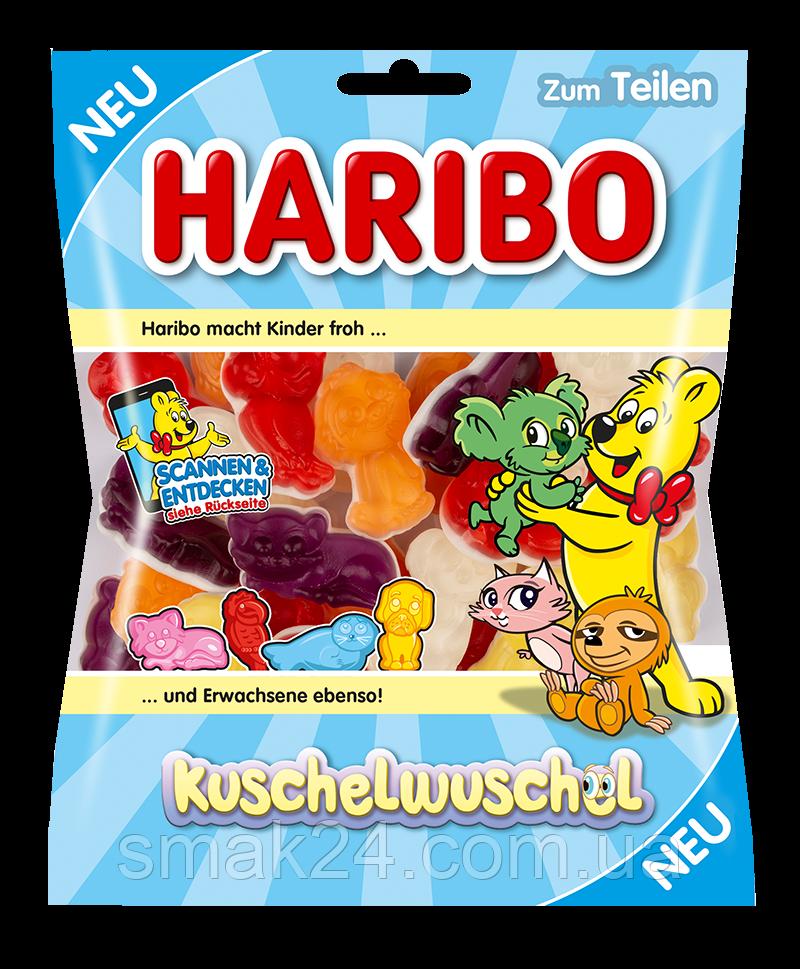Желейные конфеты Haribo Kuschelwuschel  (плюшевые зверюшки) Германия 175г