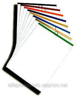 Планки Металлические, 420 мм черн верхн, уп/500
