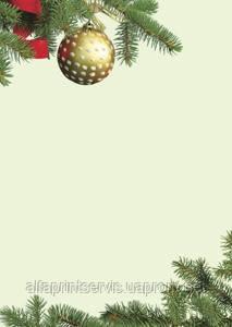 Дизайнерский картон, 100 гр/м2, уп/50, Christmas/Choinka