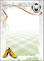 Дизайнерский картон, Диплом 170 гр, уп/25 Football
