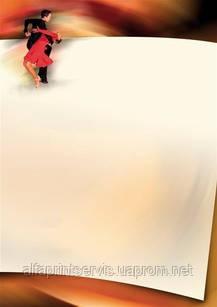 Дизайнерский картон, Диплом 170 гр, уп/25 Taniec