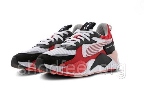 Женские кроссовки Puma Rs-x Toys White Red Black