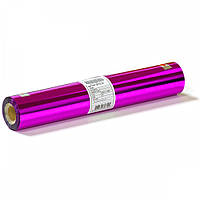 Фольга рулон 320мм 100м розовая