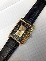 Часы механические Luch 116253 золотистые мужские прямоугольные Беларусь