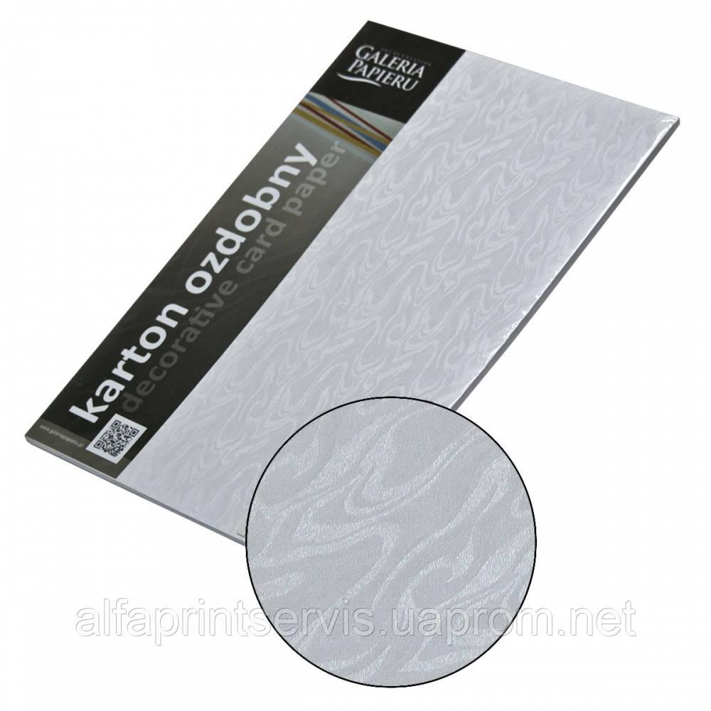 Картон Дизайнерский, 220 гр, уп/20, Papirus - Bialy