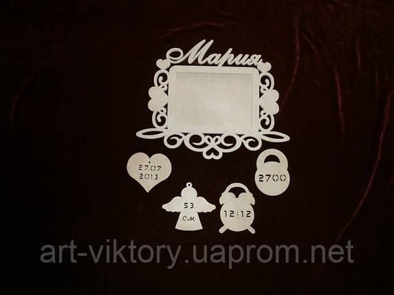 Рамка для фото Мария (34 х 27 см), декор, фото 2