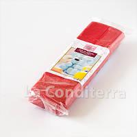 Красная мастика для моделирования c какао маслом, 1 кг