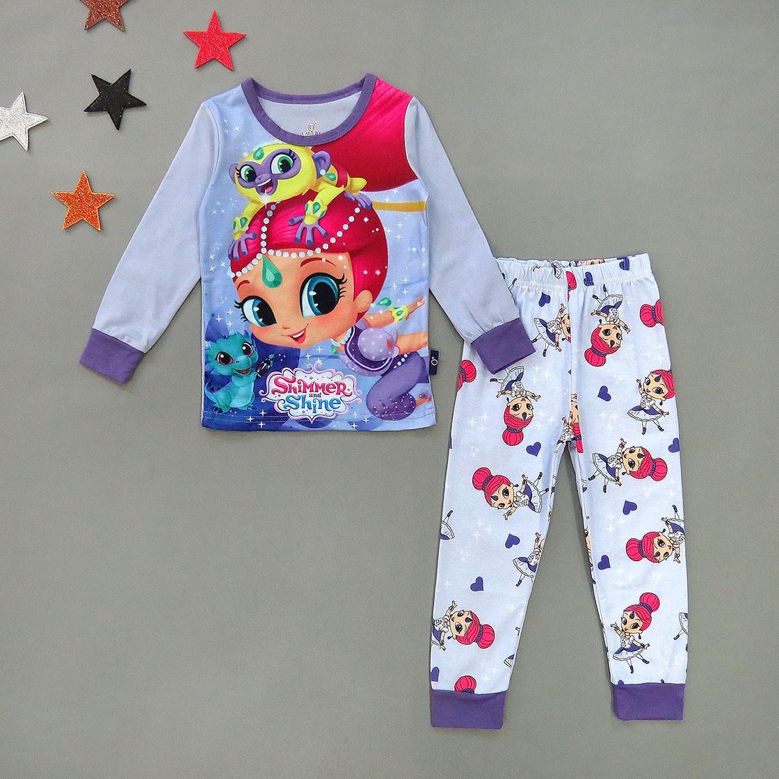 Пижама Shimmer and Shine для девочки.