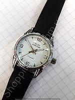 Женские часы Слава Созвездие 116255 механические серебристые круглые диаметр 28мм