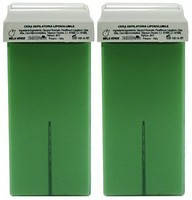 Воск кассетный с экстрактом зеленого яблока(Италия) 100 мл