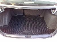 Резиновый коврик NORPLAST  в багажник для Porsche Cayenne (2002-2010)