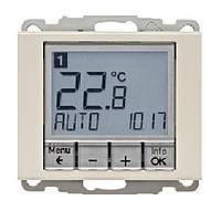 Регулятор температуры с часовым механизмом 250В Berker Arsys Белый (20440002)