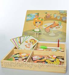 Деревянная игрушка Гардероб MD 1337 (Кухня)