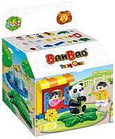 Конструктор BANBAO 9552 зоопарк, фігурки, тварини, 37дет., кор., 26,5-20-15 см