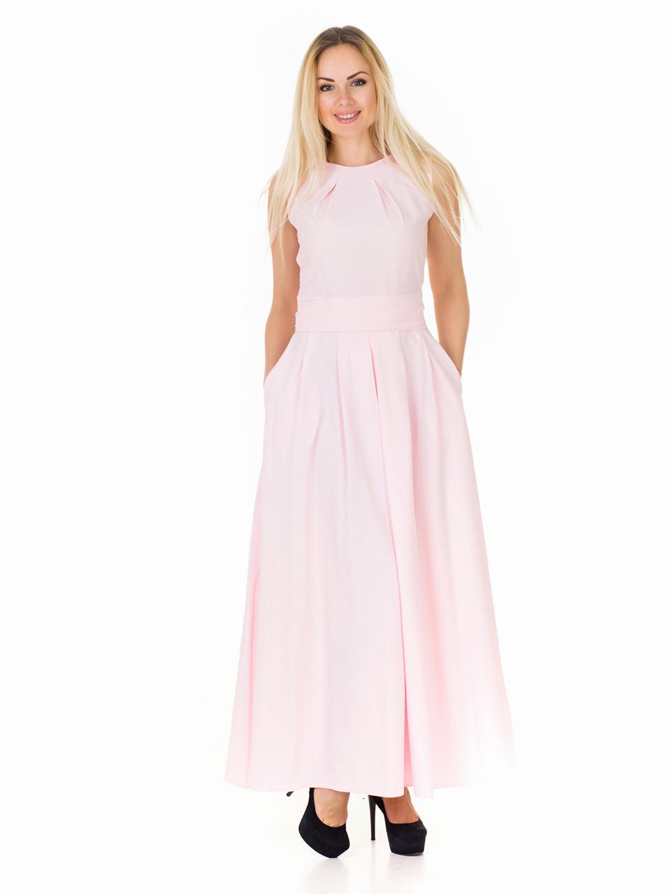 Женское летнее длинное платье PM04904