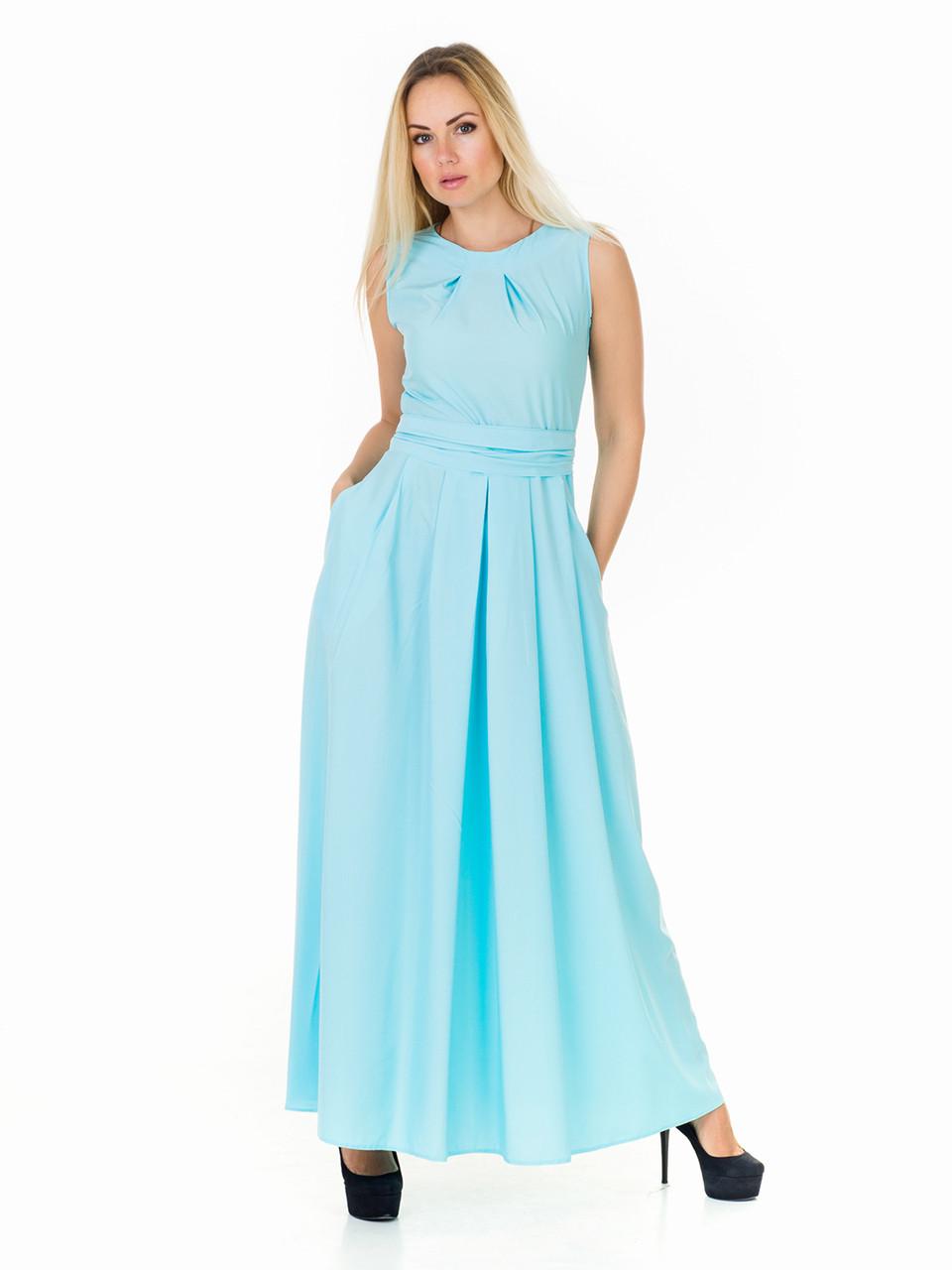 Женское летнее длинное платье PM04902