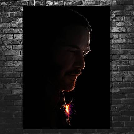 Постер John Wick 2, Джон Уик 2, Киану Ривз. Размер 60x43см (A2). Глянцевая бумага, фото 2
