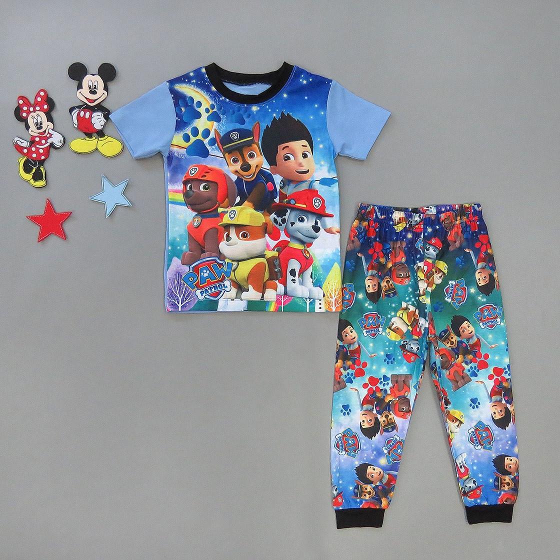 Пижама Paw Patrol для мальчика.