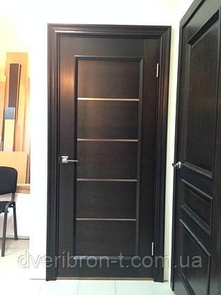 Двери Брама 36.8 дуб венге, фото 2