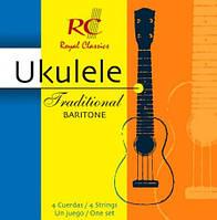 Струны для укулеле ROYAL CLASSICS UKB40 Baritone