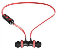 Бездротові Bluetooth-навушники Awei B990BL, червоні
