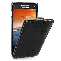 Кожаный чехол (флип) TETDED для Lenovo S960 Vibe X чёрный
