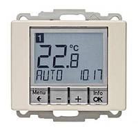 Регулятор температуры с часовым механизмом 250В Berker Arsys Бронзовый Лак (20449011)