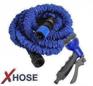 Компактный садовый шланг X-Hose 52,5 м | С распылителем, фото 2