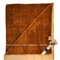 Одеяло из верблюжьей шерсти Billerbeck Камелия меховая 140х205 тёплое