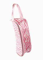 Косметичка  Da Vinci 18х10см Розовый, Белый